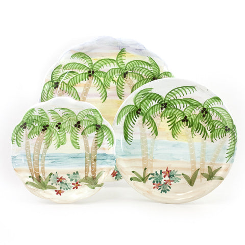 Tropical Sunset 10 inch Plate
