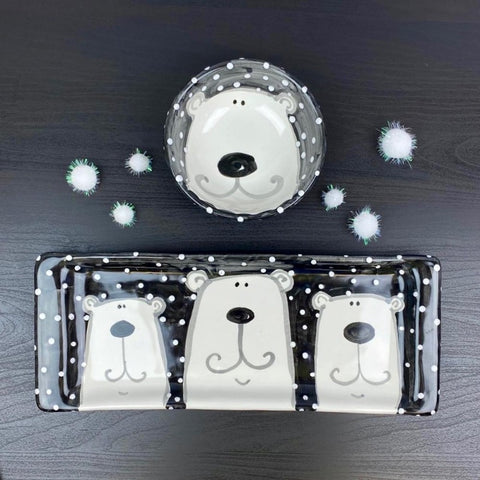 Polar Bear Bread Tray