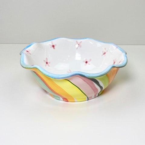 Soft Stripe Pretty Bowl