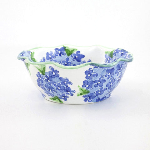 Blue Hydrangea Pretty Bowl