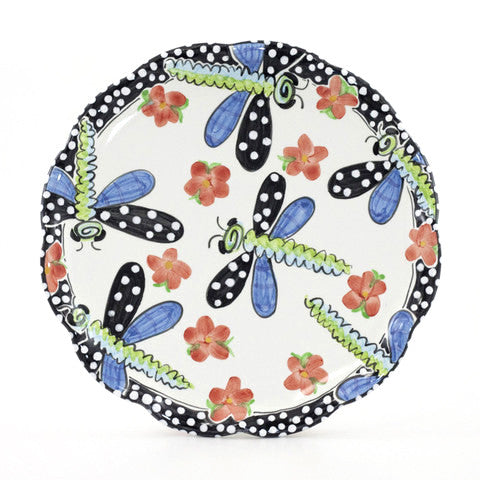 Dragonfly 10 inch Plate