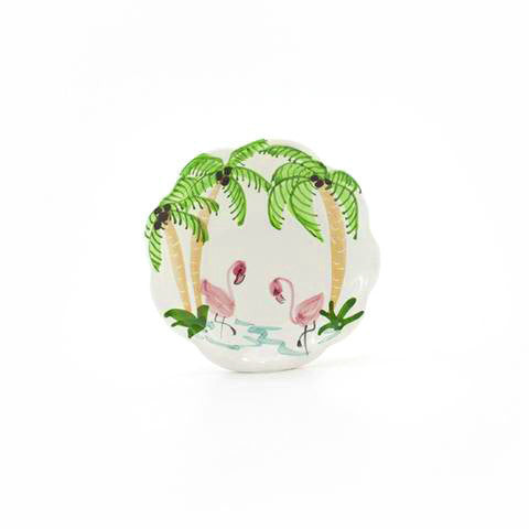 Flamingos 6 inch Plate