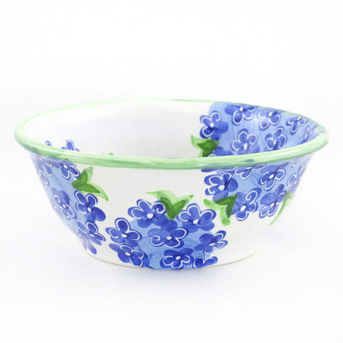 Blue Hydrangea Medium Bowl