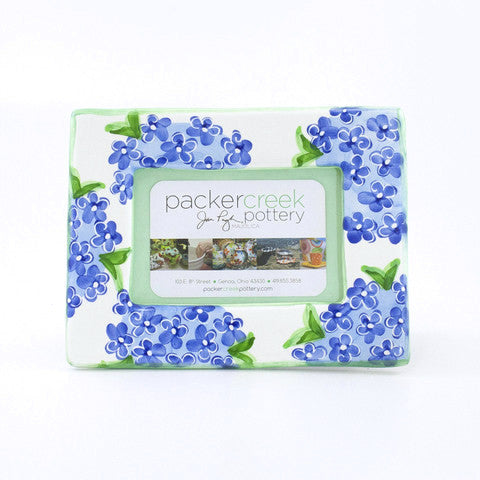 Blue Hydrangea Picture Frame