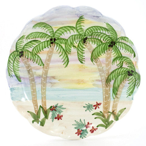 Tropical Sunset 12 inch Plate