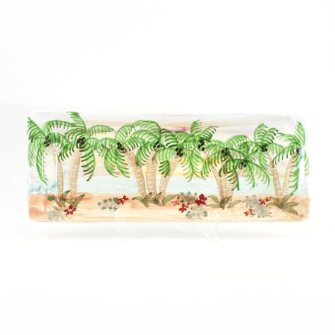Tropical Sunset Bread Tray