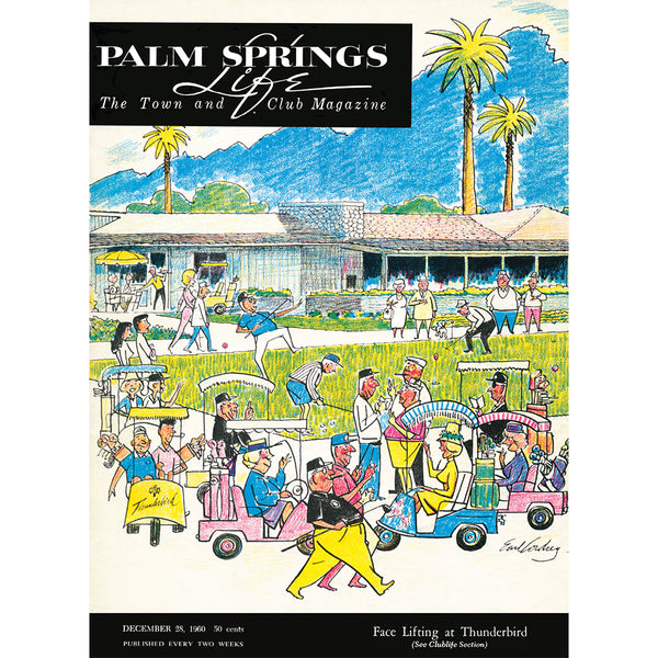 Palm Springs Life Cover Print