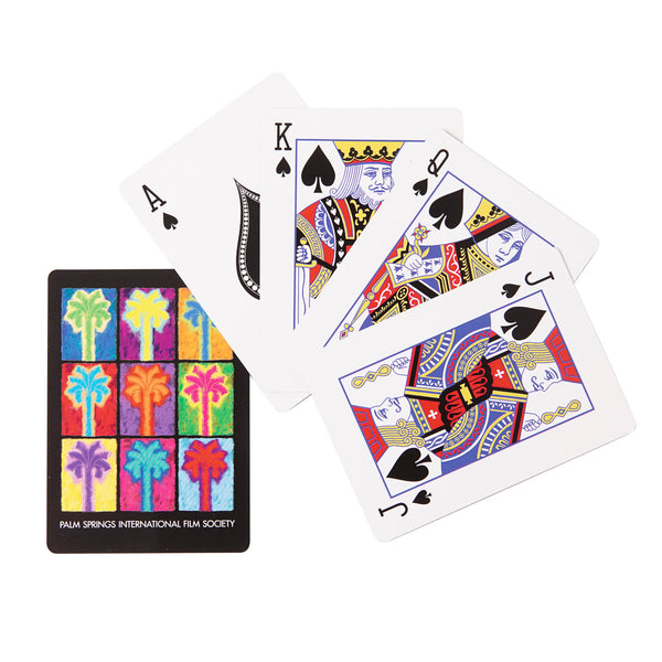 Palm Springs Film Festival Pop Art Playing Card Deck