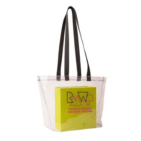 bd25cd407 Rancho Mirage Writers Festival Clear Tote Bag