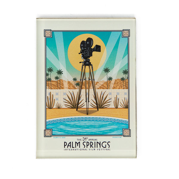 2020 Palm Springs Film Festival Acrylic Magnet