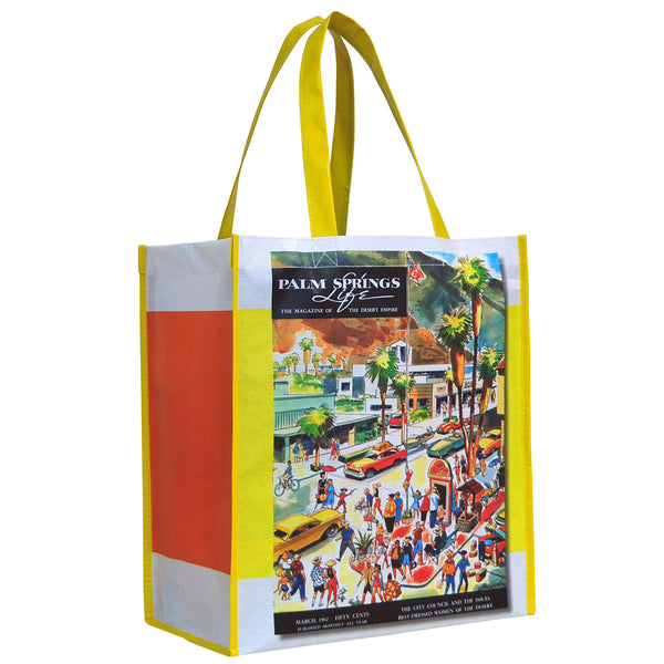 Palm Springs Life Reusable Recyclable Grocery Bag