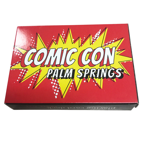 Comic Con Palm Springs Playing Cards