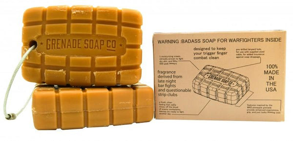 Grenade Soap - Whiskeywood