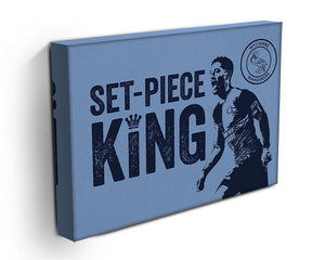 Set Piece King Stretched Canvas Print