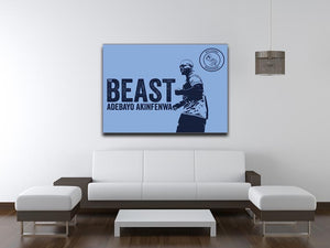 Beast Stretched Canvas Print