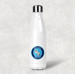 Wycombe Wanderers FC Stainless Steel Water Bottle