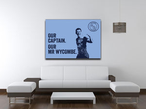 Captain Stretched Canvas Print