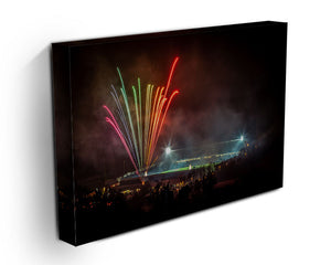 Adams Park Fireworks Stretched Canvas Print