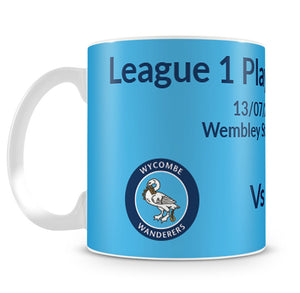 Wycombe vs Oxford Play-Off Final 10oz Mug