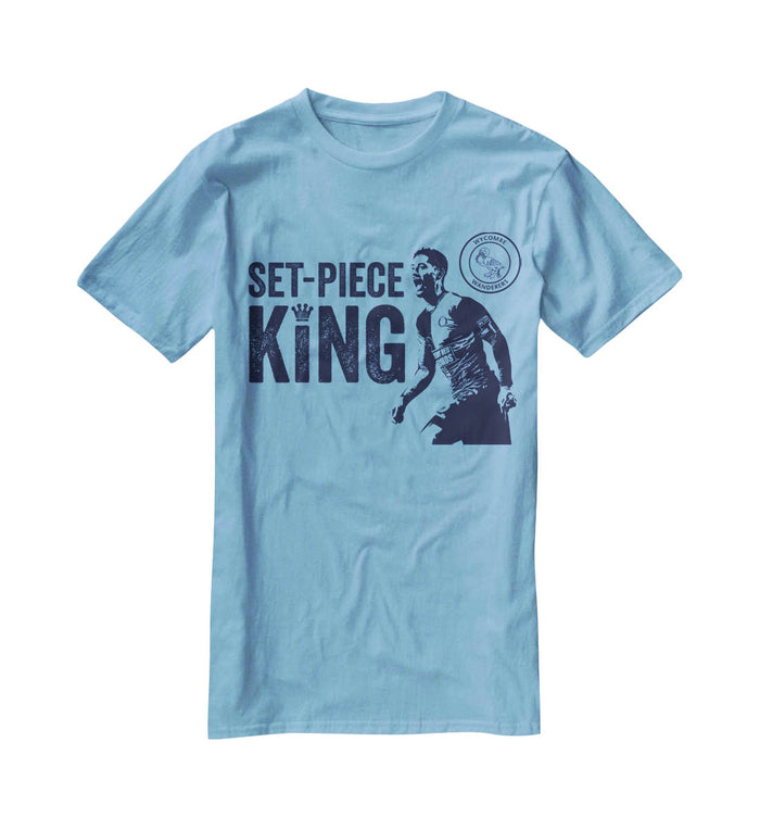 Set Piece King Stylised Graphic T-Shirt