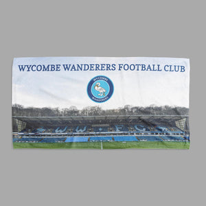 Wycombe Wanderers Stadium Shower/Bath Towel