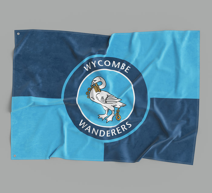 Wycombe Wanderers Flag