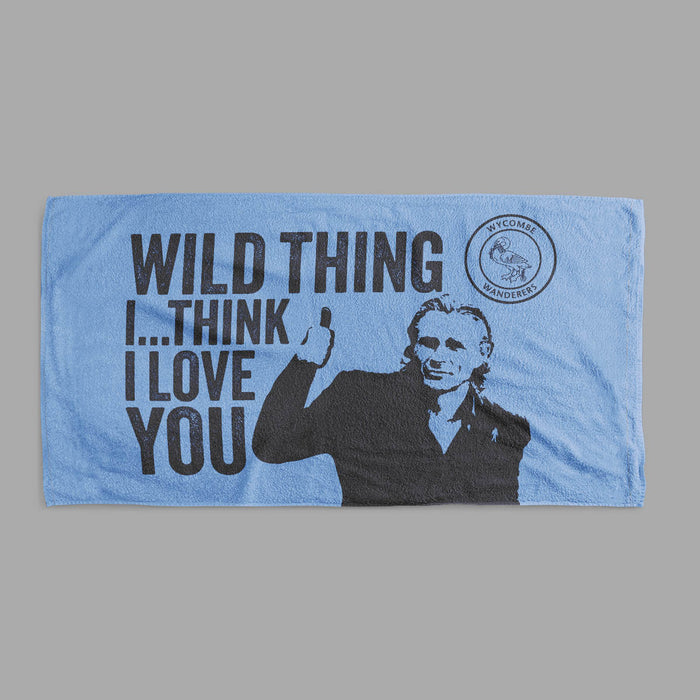 Wild Thing Logo Tea Towel