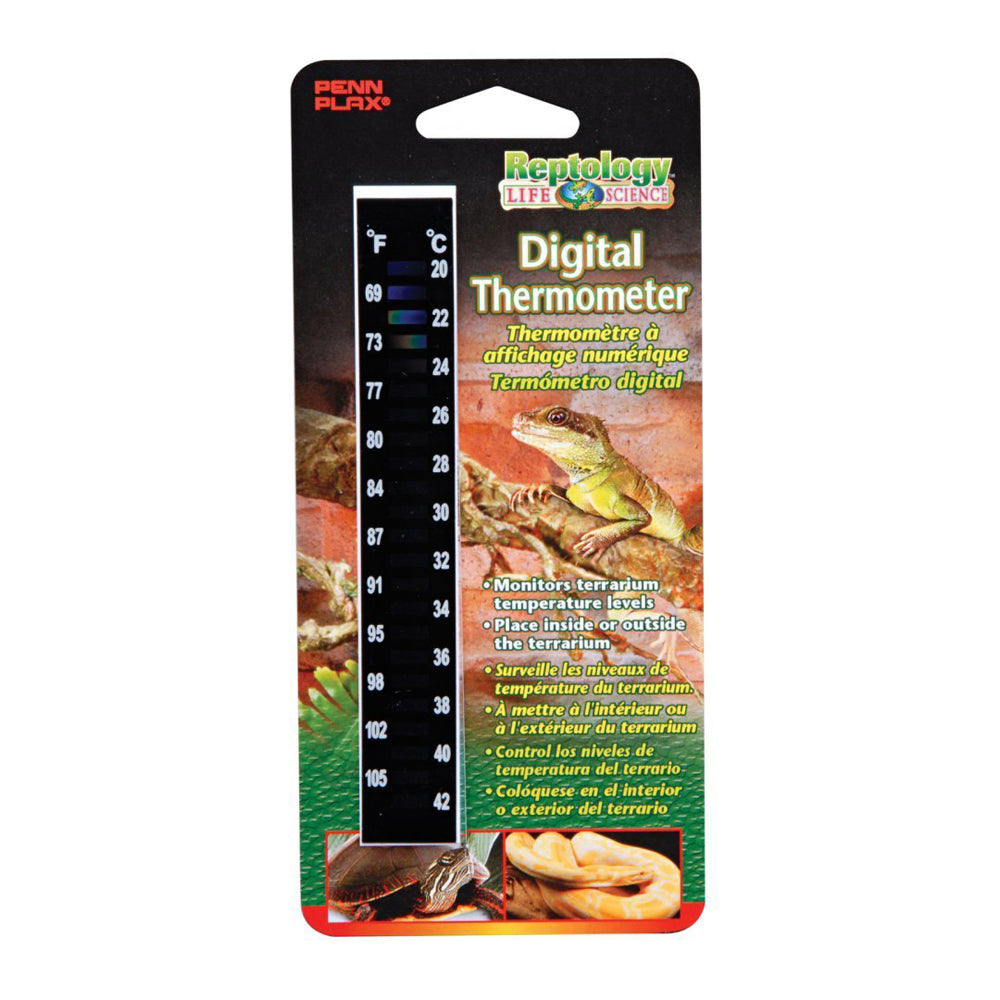 Penn Plax Reptology High Range Digital Thermometer