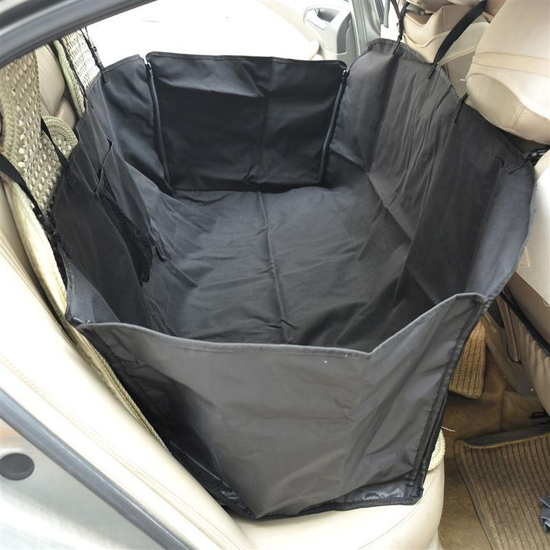 Pawhut Travel Dog Car Seat Cover - Black