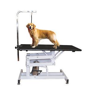 Pawhut Z-Lift Hydraulic Pet Grooming Table