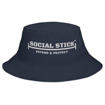 The Official Social Stick Bucket Hat Navy