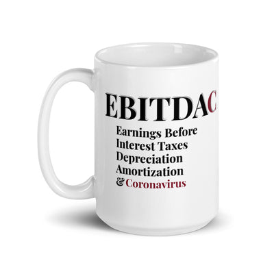 EBITDAC Mug by Social Stick USA