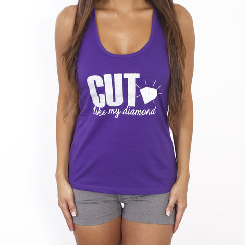 CUT Like My Diamond Workout Tank Top