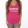 Dumbbells Before the Wedding Bells Workout Tank Top