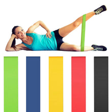 Load image into Gallery viewer, Rubber Elastic Bands For fitness Yoga Resistance Bands Workout Exercise Expander Sport Set Gym Equipment Hip Training Glute Band