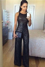 Load image into Gallery viewer, * TIFFANY * - BLACK JUMPSUIT