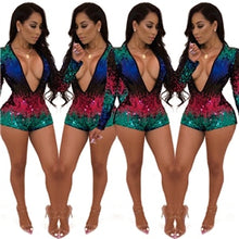 Load image into Gallery viewer, * JADE * Sequined Romper