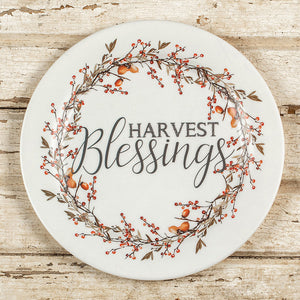 Harvest Blessings Plate