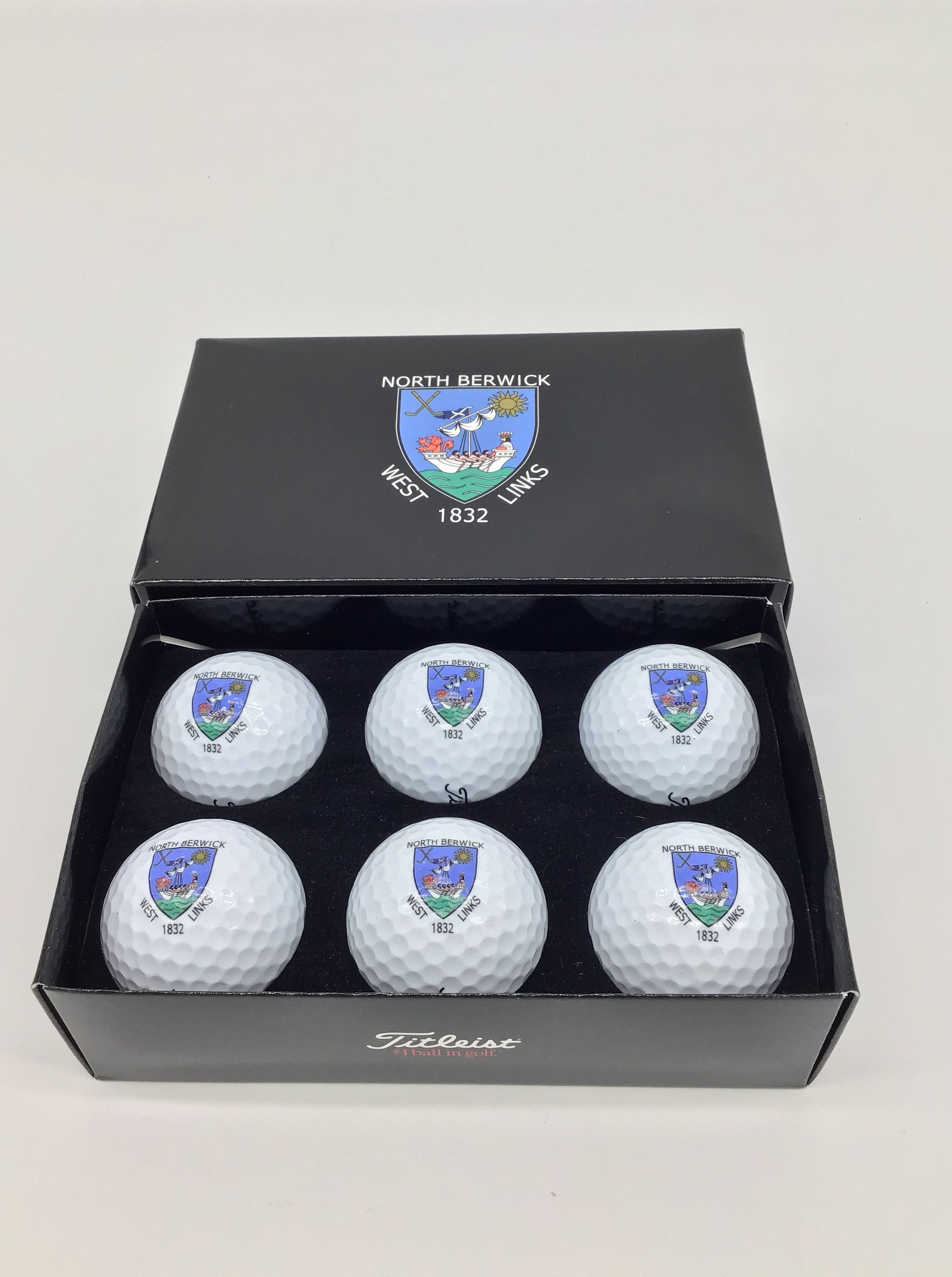 Titleist Logo Golf Balls