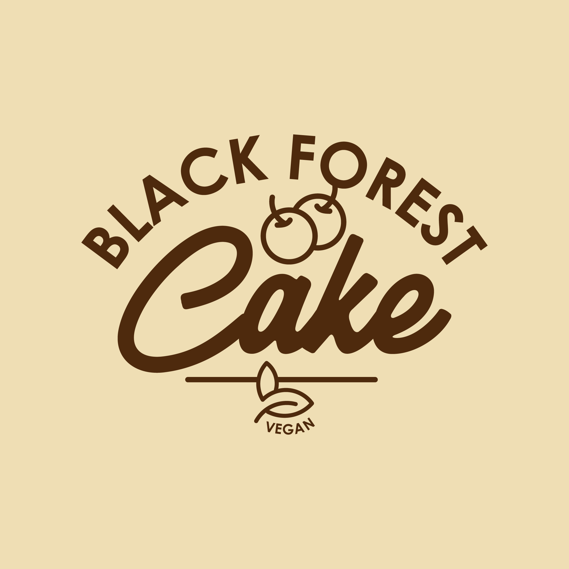 Vegan Black Forest Cake 500ml Tub