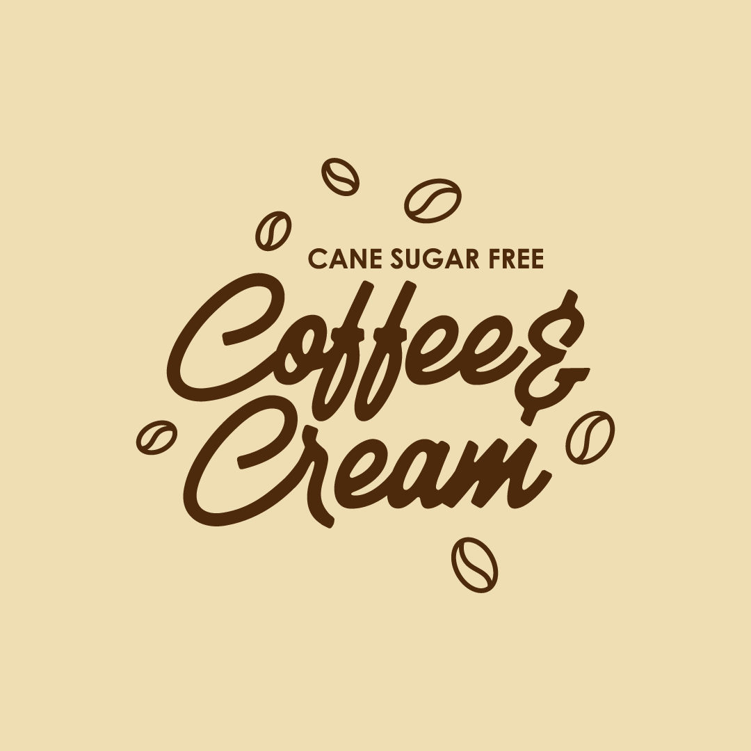 Cane Sugar Free Coffee & Cream 500ml Tub