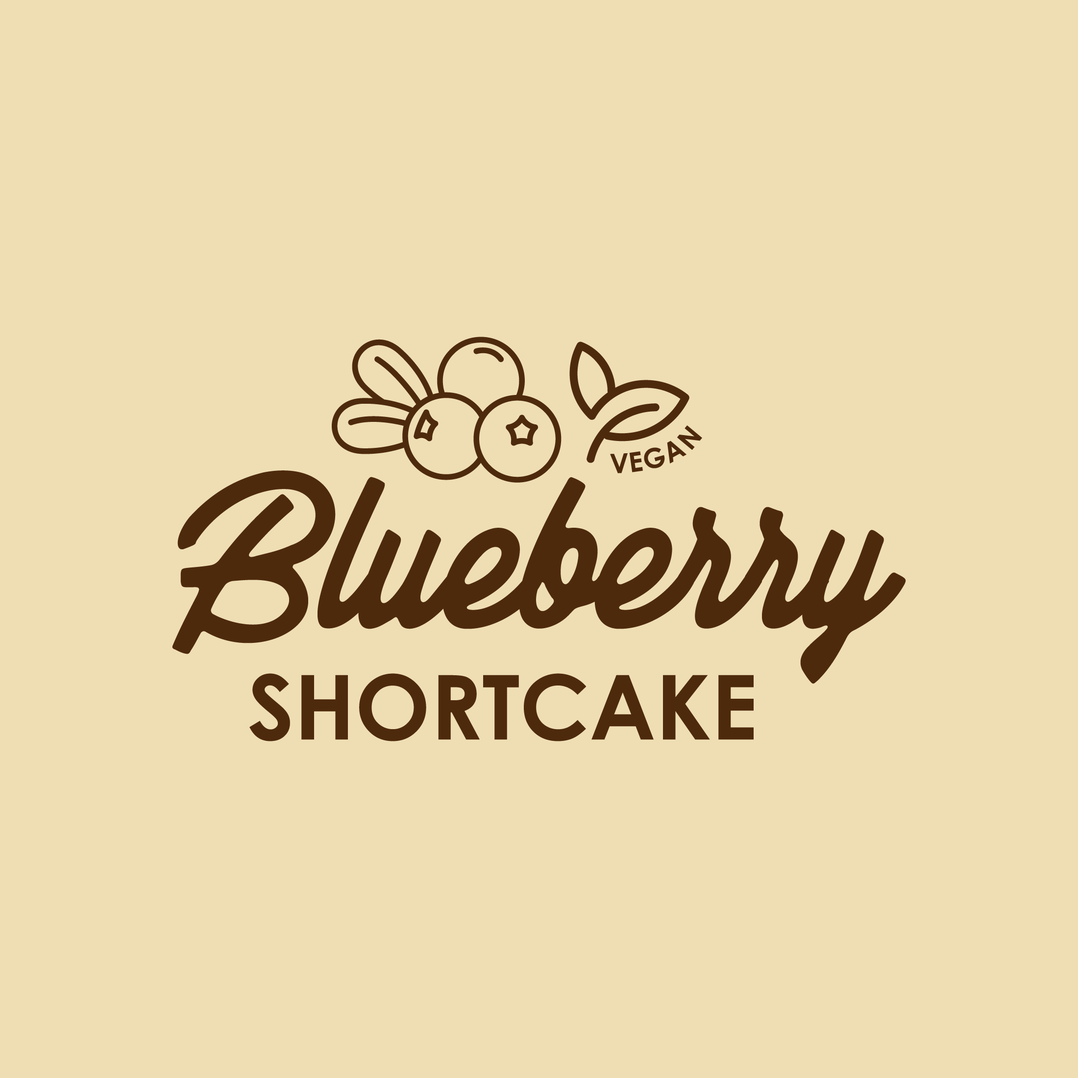 Vegan Blueberry Shortcake 500ml TUB