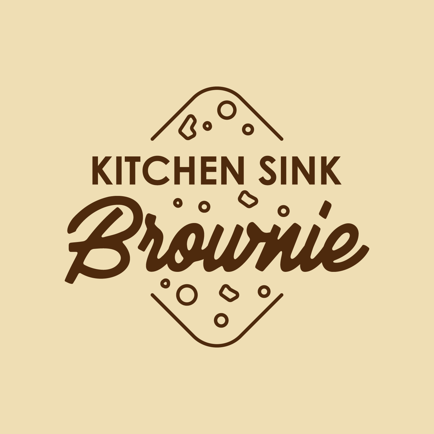 Kitchen Sink Brownie 500ml Tub