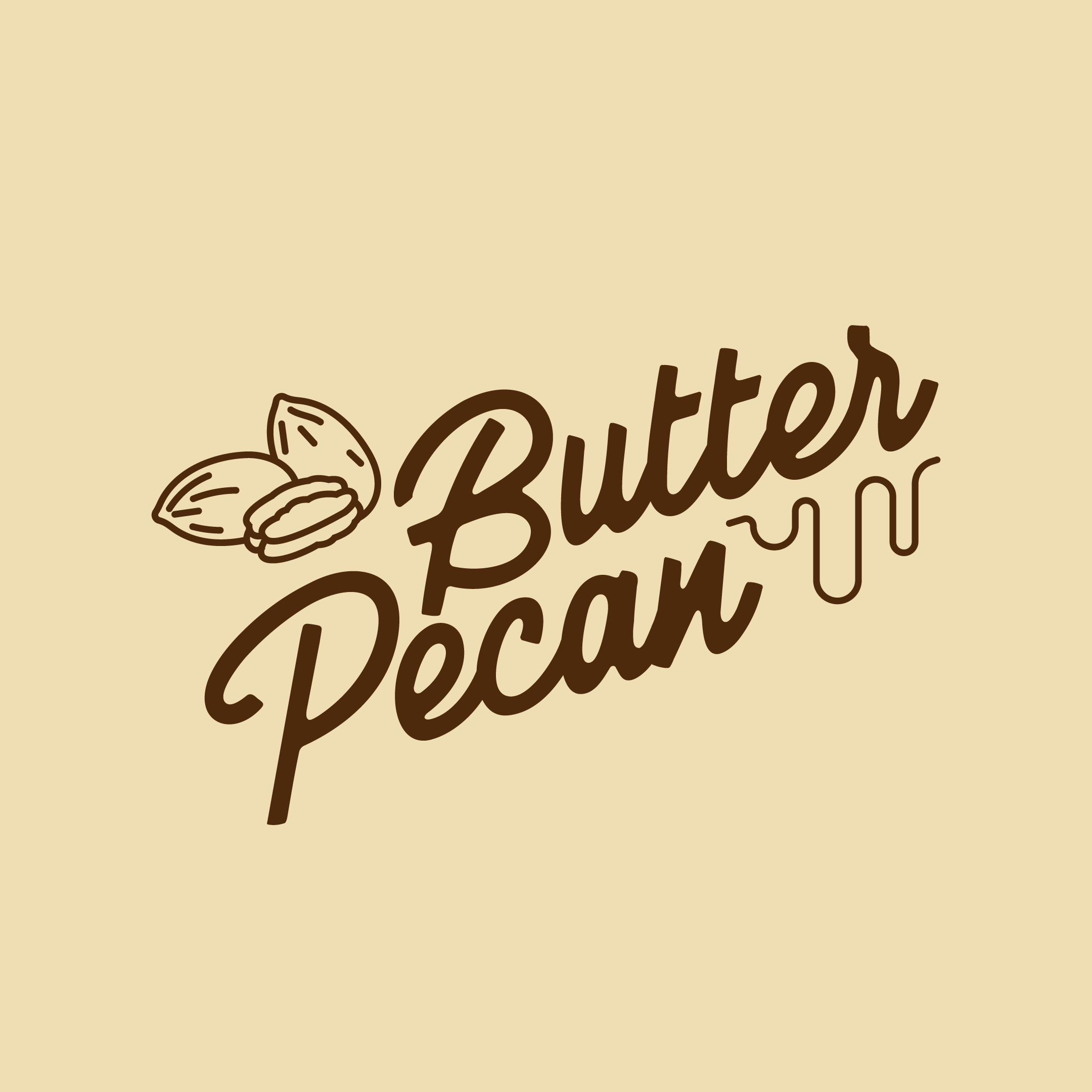 Butter Pecan 500ml TUBS