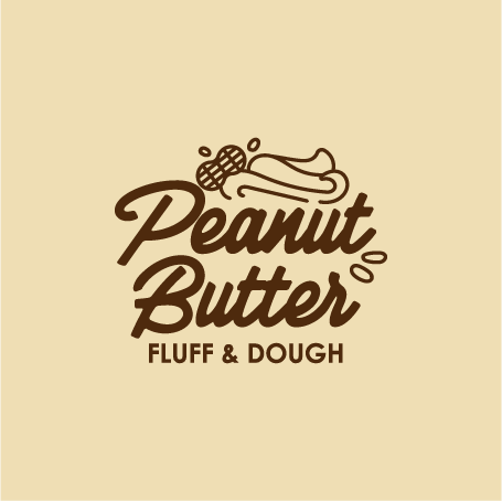 Peanut Butter Fluff & Dough 500ml Tub