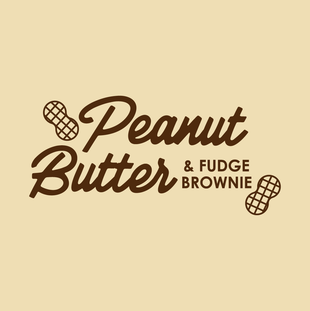 Peanut Butter & Fudge Brownie 500ml Tub