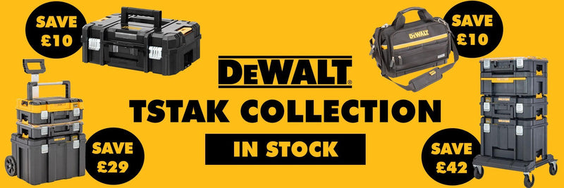 The DeWalt TSTAK Collection | Trade Building Products