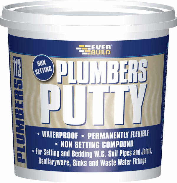 113 Plumbers Putty - 750Gr - Plumbing Tools - Trade Building Products