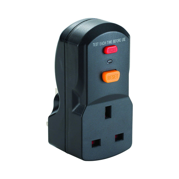 13A RCD Plug and Socket Adaptor 240V - RCD Plug - Trade Building Products