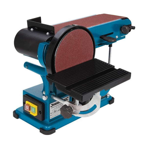 350W Bench Belt & Disc Sander 390mm - Power Tools - Trade Building Products